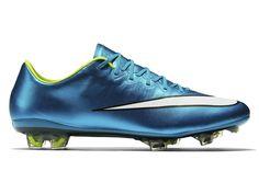 brand new 6ff56 46eaf Nike Mercurial Vapor X FG Chaussures de Football Sol Dur Pour Homme  744950_400