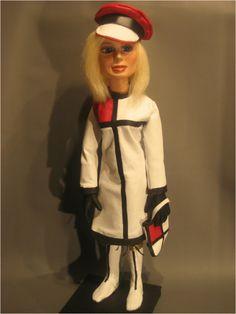 Lady Penelope in YSL Mondrian
