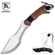 Paratrax Bowie Knife with Removeable Blade