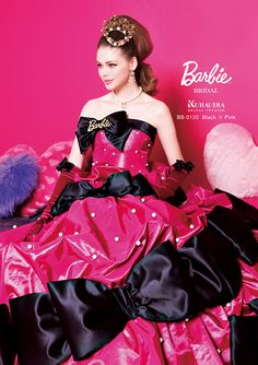 Barbie Bridal! (not a doll but real couture) Awesome!