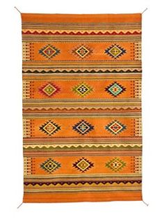 Handcrafted Saltillo Calabasa Rug...with the right decor...gorgeous!