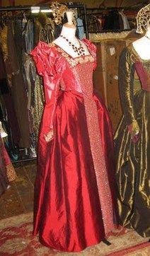 Katherine Howard Christmas gown