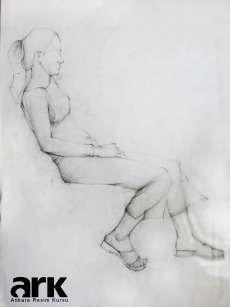 Desen Çalışması, Karakalem figür çizimi, Charcoal Figure Drawing, Figure Sketch Art http://ankararesimkursu.net