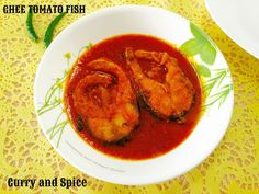 Curry and Spice: GHEE TOMATO FISH