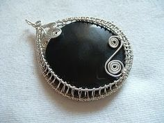 How to Wire Weave a Cabochon Tutorial - The Beading Gem's Journal
