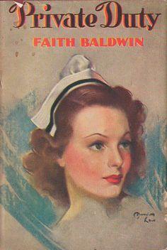 Vintage Nurse Romance Novel cover