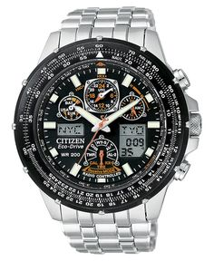 Citizen Watch, Men's Eco-Drive Skyhawk Atomic