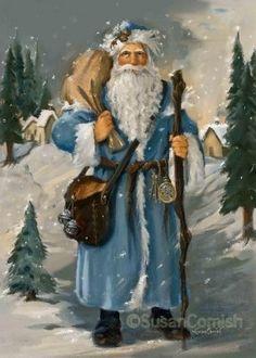 Susan Comish Christmas Art Gallery   Quality Prints Original Artwork