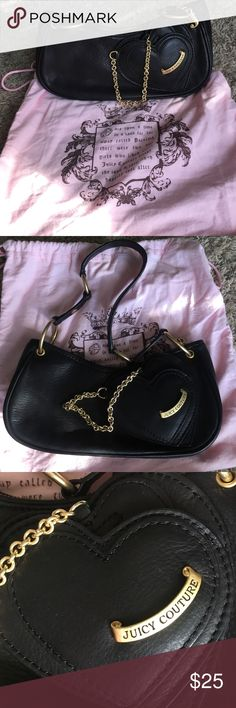 Juicy Couture Purse Juicy Couture black purse Juicy Couture Bags