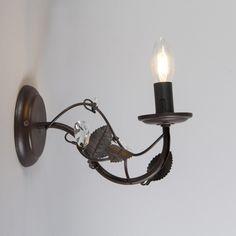 Aplique PIOMBINO 1 óxido #interiorismo #decoracion #luz