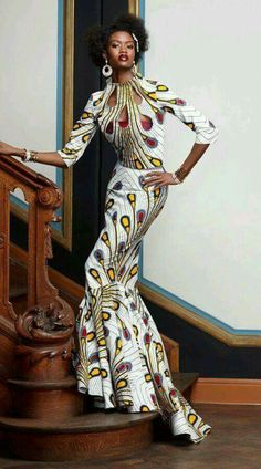 African dresses for women, african print dresses, african attire, african. African Inspired Fashion, African Print Fashion, Africa Fashion, Fashion Prints, Fashion Design, Fashion Styles, African Attire, African Wear, African Women