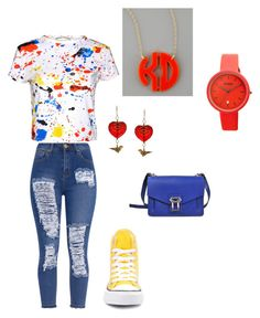 Untitled #10 by xsimplyoriginal on Polyvore featuring polyvore, fashion, style, Alice + Olivia, Converse, Proenza Schouler, Moon and Lola, Crayo, Charming Life and clothing
