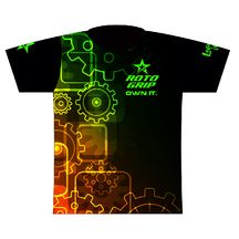4607fc87fc9c Roto Grip Gears Dye Sublimated Jersey. A mechanical theme incorporating  multi-colored gears! Shoes For LessSublime ShirtBowling Ball