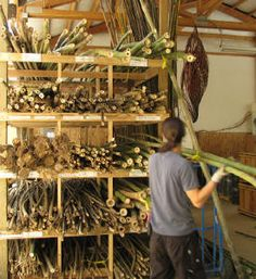 working with bamboo