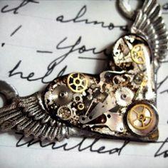 steampunk tattoo idea. I love this idea for a tattoo!