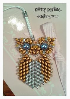 6 Awesome Beaded Owl Jewelry Tutorials to Try! ~ The Beading Gem's Journal