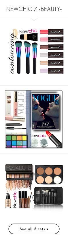 """""""NEWCHIC 7 -BEAUTY-"""" by tamsy13 ❤ liked on Polyvore featuring beauty"""