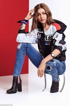 933c531d5e1 Tommy's love of motorsports meets Gigi's modern style: Think moto ...