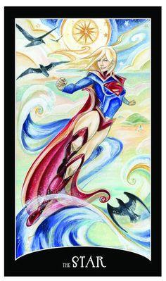 e59f76f732ff7 The Star - DC Comics Justice League Tarot