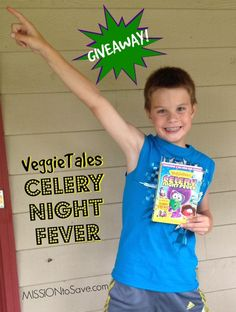 veggietales Celery Night Fever DVD #Giveaway (ends 8/6)