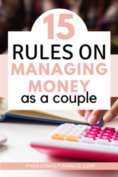 Managing money as a couple may seem terrifying, but it doesn't have to be. Here are 15 ways you can learn how to manage money with your spouse effectively. Budgeting System, Budgeting Finances, Making A Budget, Create A Budget, Money Makeover, Managing Your Money, Finance Tips, Money Management, Money Saving Tips
