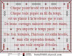 Aujourd'hui une grille sympa que j'ai trouvé, je vous la partage, je la trouve tout à faire vraie pas vous ? bonnes petites croix