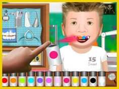 Workday Dentist - a role-play game about working as a dentist.  Original Appysmarts score: 80/100  Featured in Episode 13 of Appysmarts weekly video podcast.  #apps #kids #kidsapps