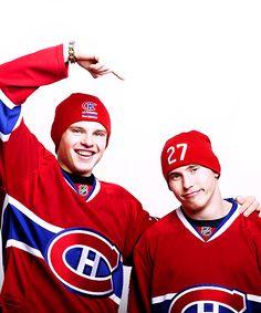 Brendan Gallagher and Alex Galchenyuk, Montreal Canadiens