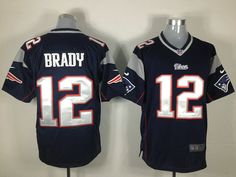 $22 for Men's Nike New England Patriots #12 Tom Brady Dark Blue jersey.  Buy Now! http://sincerejersey.com/Men-s-Nike-New-England-Patriots--12-Tom-Brady-Dark-Blue-jersey-productview-121012.html.  #SincereJersey#Tom Brady
