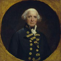 Art 1823 Georgian Print ~ Admiral Lord Viscount Exmouth