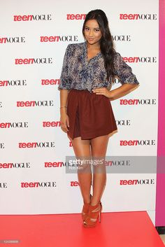 Shay Mitchell visits the Teen Vogue Haute Spot at The New York Public Library for Performing Arts on September 9, 2011 in New York City.