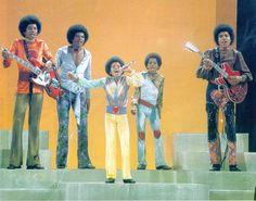 Tito Jackson, Jackie Jackson, Jermaine Jackson, The Jackson Five, Randy Jackson, Michael Jackson Rare, Jackson Family, Funk Bands, 70s Inspired Fashion