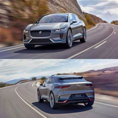 The brand new Jaguar I-Pace concept - a full electric SUV with / of torque and 500 km+ range. Will hit the market in Jaguar Type E, New Jaguar, 2017 Acura Nsx, Suv Trucks, Jaguar Land Rover, Classy Cars, Expensive Cars, Car In The World, Cars