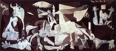 Pablo Picasso - Guernica 1937 (Art Cubisme)
