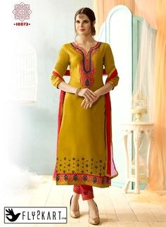 Light Yellow and Pink Color Salwar Suit http://www.fly2kart.com/light-yellow-and-pink-color-salwar-suit.html?utm_content=bufferaf30a&utm_medium=social&utm_source=pinterest.com&utm_campaign=buffer BIG OFFER SALE UP TO 50% OFF!!! +91-8000800110 CALL OR WHATSAPP