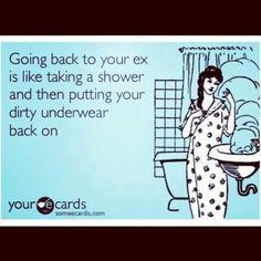 I think I've worn my last pair of dirty underwear...eww