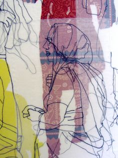 Rosie James - Patterns in Textiles Textile Pattern Design, Textile Patterns, Pattern Print, Design Lab, Rosie James, Collages, A Level Textiles, Textiles Sketchbook, Art Alevel