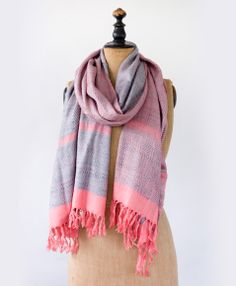 Noonday Collection Bombay Raw Silk Scarf- $78