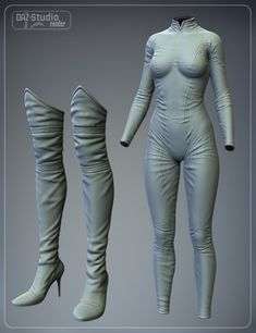 Super Hero Suit for Genesis 2 Female (s) and Victoria 6 Zbrush Character, 3d Model Character, Character Modeling, Character Outfits, 3d Modeling, Digital Sculpting, Genesis 2, Drawing Clothes, 3d Software