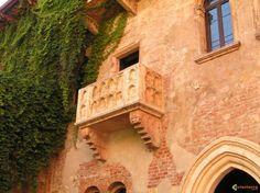 Balcon de Juliette à Vérone, une pure légende!!!