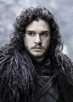 Jon Snow is a major character in the first, second, third, fourth, fifth and sixth seasons. He is played by starring cast member Kit Harington, and debuts in the series premiere. Jon is the bastard son of Lord Eddard Stark of Winterfell. He was a steward in the Night's Watch. Now serving on the Wall, Jon has found a place of acceptance where the circumstances of his birth are of little importance. He has a pet direwolf named Ghost, and wields the bastard sword, Longclaw, which was a gift...