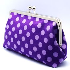 Light Purple Polka Dots