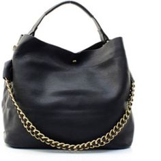 "Two in One Handbag( Satchel, Shoulder, & Crossbody Size: 16 ""L X 7 ""D X 11.5 ""H Faux pebble Leather but looks like real leather *Beautiful Black 2 in 1 Handbag *Magnetic Clasp Closure *Detachable Chain Strap *Removable Zipper Top Tote Bag *Adjustable Shoulder Strap Included *Monogram Ready Bags Shoulder Bags"