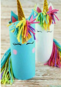 Try to make these gorgeous unicorn crafts at home with the kids. They will enjoy playing and making these cute unicorns for kids this Summer! kids crafts Unicorn Crafts For Kids Crafts Fir Kids, Summer Crafts For Kids, Crafts For Kids To Make, Jar Crafts, Preschool Crafts, Kids Diy, Spring Crafts, Kids Arts And Crafts, Summer Diy