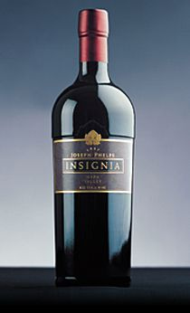 2002 Insignia by Joseph Phelps rated wine of the year in 2005! Can't wait to drink it!