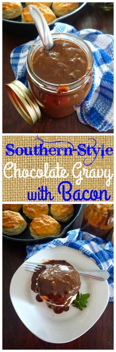 Smoky Bacon-Biscuit Dressing Recipe — Dishmaps