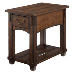 Shop for Hammary Chairside Table, and other Living Room End Tables at Stacy Furniture in Grapevine, Allen, and Flower Mound, Texas. Stacy Furniture, Wood Furniture, Dream Furniture, Furniture Market, Street Furniture, Quality Furniture, Living Room End Tables, Entryway Tables, Dining Room