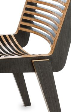 Wood Chair HIAB: Pirwi World of Houses See more here (see more here) www. Plywood Chair, Plywood Furniture, Unique Furniture, Diy Furniture, Furniture Design, Outdoor Furniture, Furniture Stores, Plywood Projects, Furniture Projects