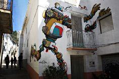Rafa Gassó | Xelön en el Museo Inacabado de Arte Urbano