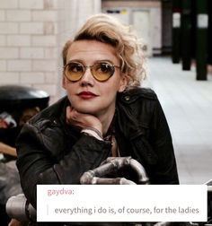 whether this is a Kate edit or a Holtzmann edit is open to interpretation || by @fanzelforever